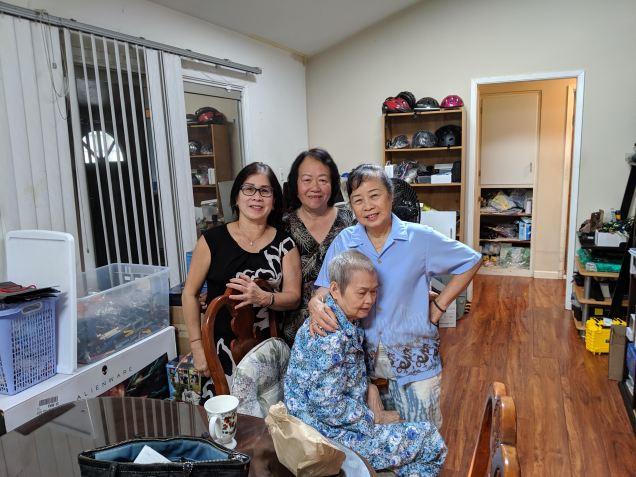 Thăm Chị QP Phạm Văn Chan K25/1