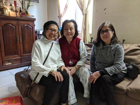 Thăm Chị Nguyễn Quang Trung K17/1